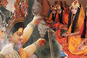 navratri-maha-hawan-and-kanya-pujan